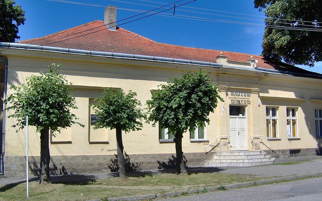 Budova Hontianskeho múzea