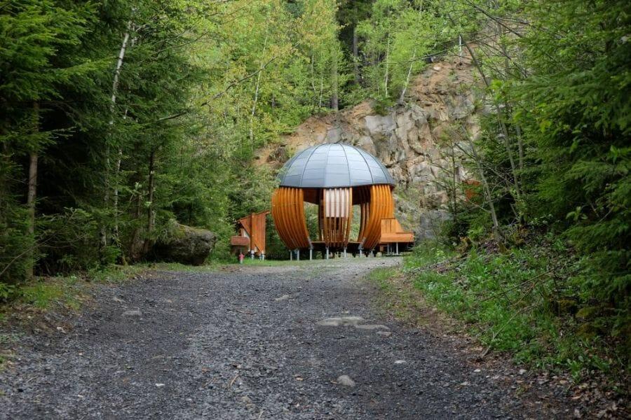 Megoňky v obci Milošová na Kysuciach
