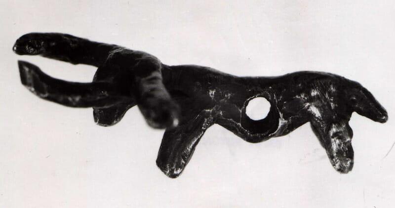 Unikátny nález medeného býčieho dvojzáprahu, ktorý sa datuje do 4. tisícročia pred naším letopočtom