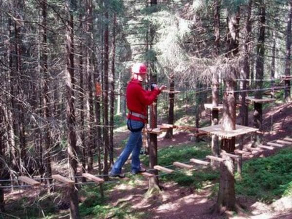 Lanový park Tazania Hrabovo