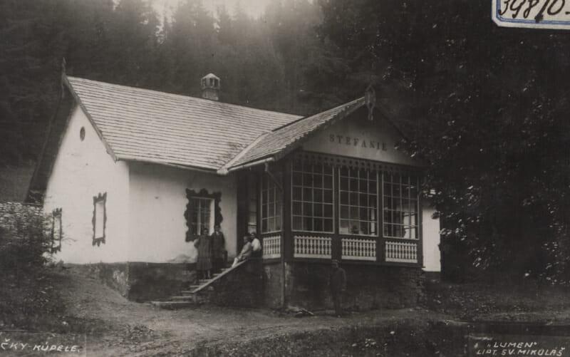 Kúpele Lúčky v minulosti