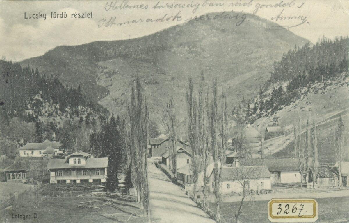 Pohľad na históriu Kúpeľov Lúčky