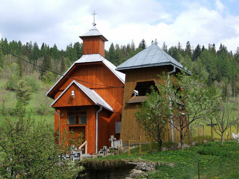 Malá Franková - kostolík sv. Jozefa a zvonica