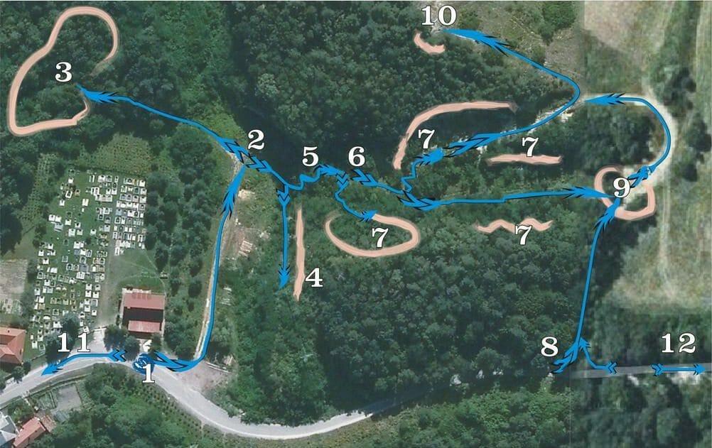 Mapa náučného chodníka