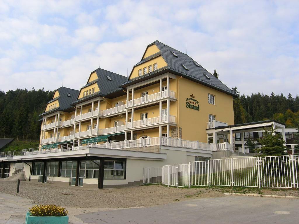 Grand Hotel Strand, Kúpele Vyšné Ružbachy