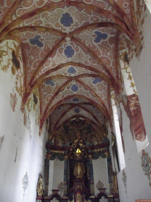Interiér Červeného kláštora