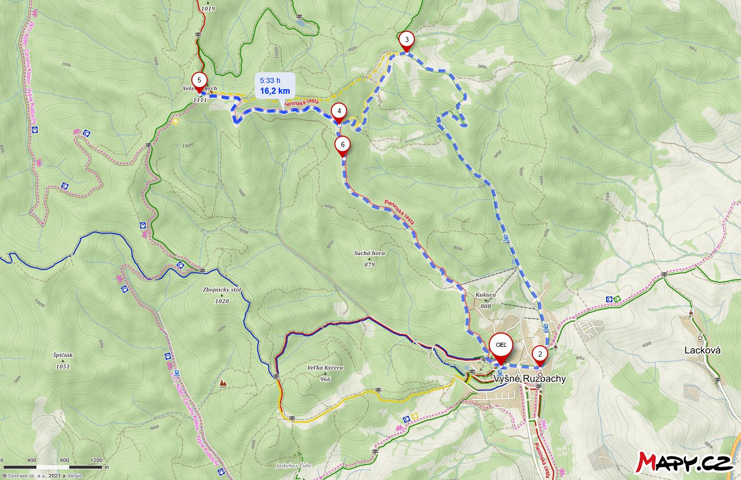 Orientačná trasa ružbašskej kúpeľenej trasy
