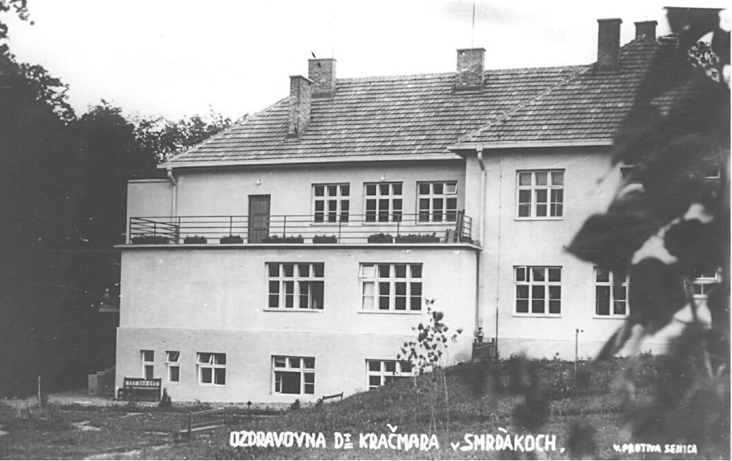 Zotavovňa dr. Kračmára z roku 1933, dnes známa ako liečebnýd dom Eva