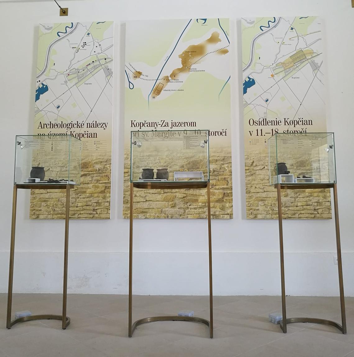 Interiér Múzea v Kopčanoch