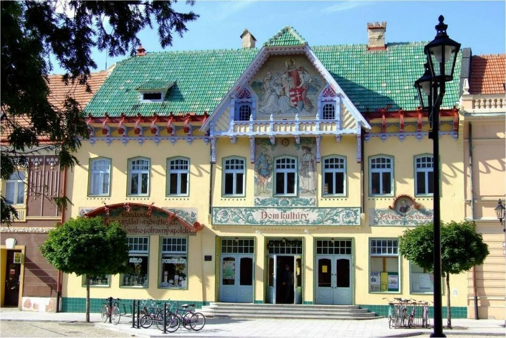 Kultúrny dom Dušana Jurkoviča v Skalici