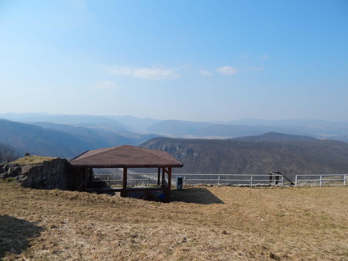 Výhľad z Pustého hradu