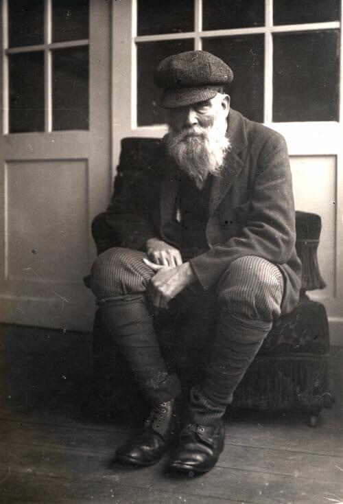 Ladislav Mednyánszky na fotografii