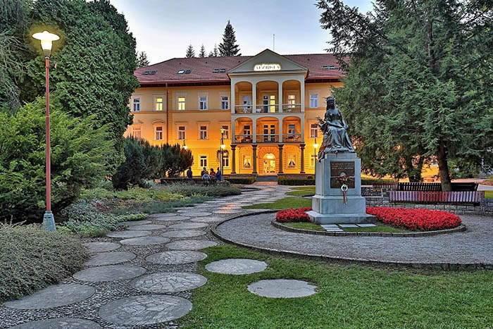 Hotel Alžbeta v Bardejovských Kúpeľoch